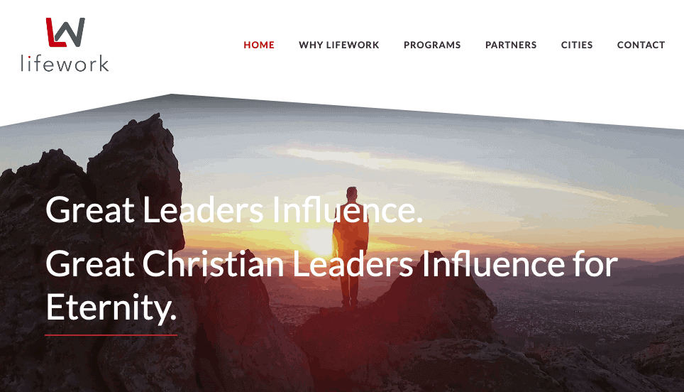 Lifework Leadership | Follower of One Resource