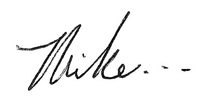Mike signature | Follower of One