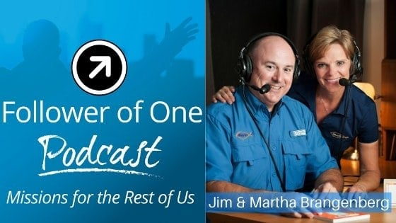 Combining Work with Your Ministry with Jim & Martha Brangenberg Ep. #12 | Follower Of One