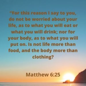 Follower of One | Worry Kills Our Witness -Matthew 6:25