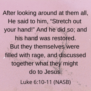 Experiencing Jesus at Work Luke 6:10-11 | Follower of One