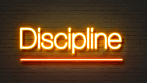 Discipline in Your Actions | Follower of One